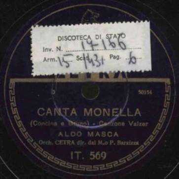 Canta Monella cover
