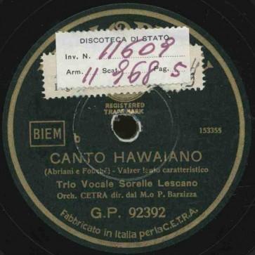 Canto hawaiano
