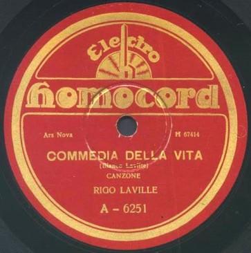Commedia Della Vita cover