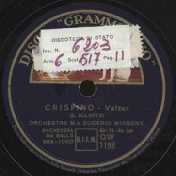 Crispino cover
