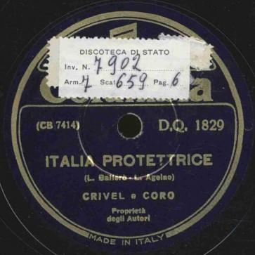 Italia protettrice