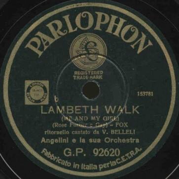 Lambeth Walk cover