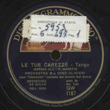 Le tue carezze