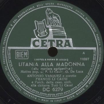 Litania alla Madonna