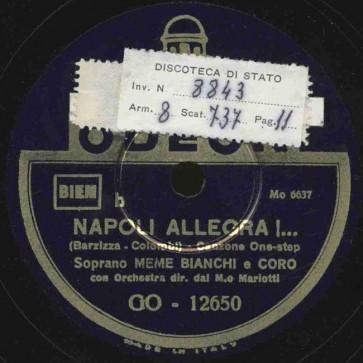 Napoli allegra!
