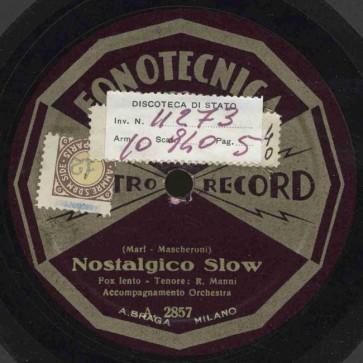 Nostalgico slow