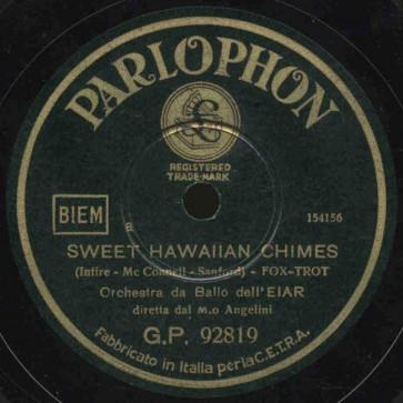 Sweet hawaiian chimes