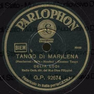 Tango Di Marilena cover