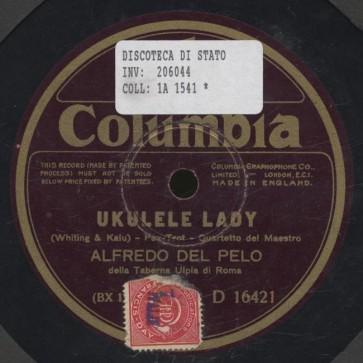 Ukulele lady