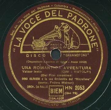 Una Romantica Avventura cover