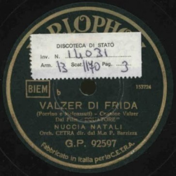 Valzer Di Frida cover