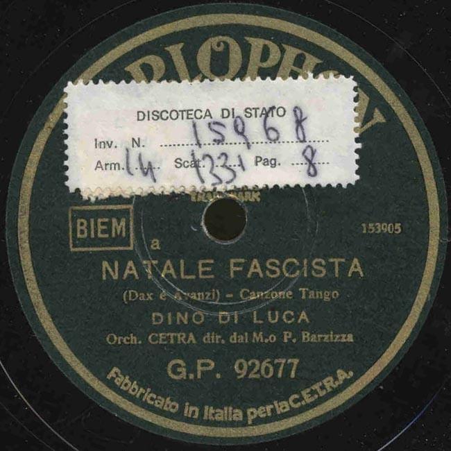 Buon Natale Fascista.Natale Fascista
