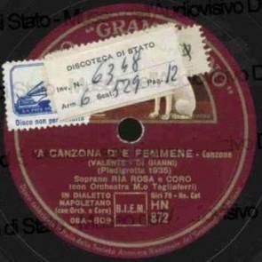 'A Canzona D''e Femmene cover
