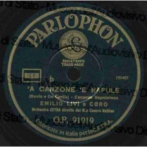 A Canzone 'E Napule cover