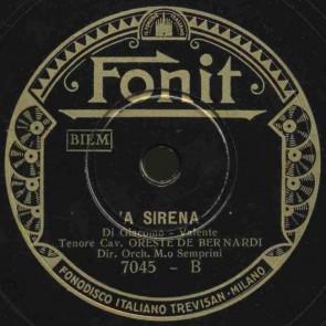 A sirena