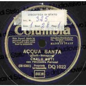 Acqua Santa cover