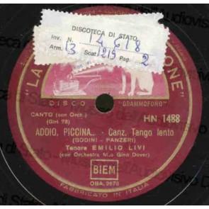 Addio Piccina cover