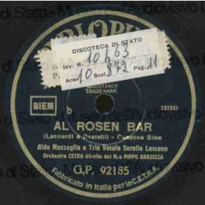 Al Rosen Bar cover