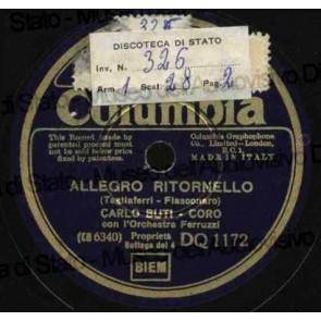 Allegro Ritornello cover
