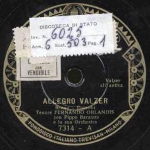 Allegro Valzer cover