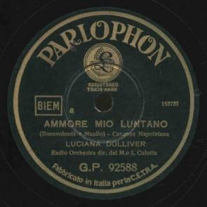 Ammore Mio Luntano cover