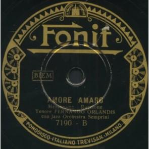 Amore Amaro cover