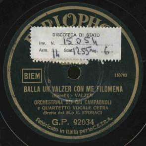 Balla un valzer con me Filomena