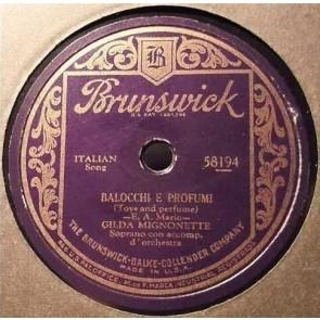 Balocchi E Profumi cover