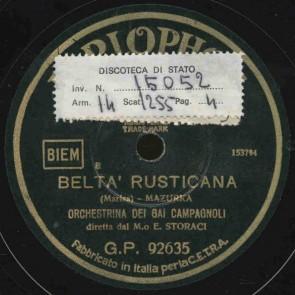 Belta' rusticana