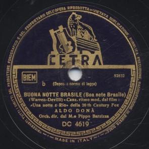 Buona notte Brasile
