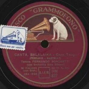 Canta Balalaika cover
