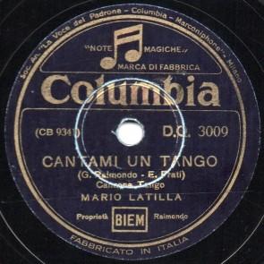 Cantami Un Tango cover