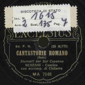 Cantastorie romano