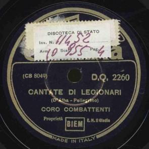 Cantate di legionari