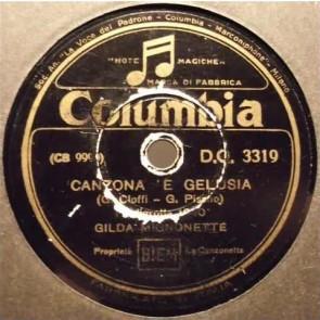 Canzona 'E Gelusia cover