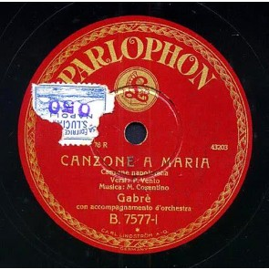 Canzone A Maria cover