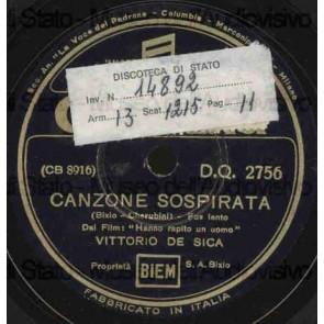 Canzone Sospirata cover