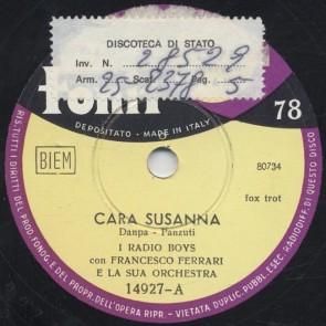 Cara Susanna