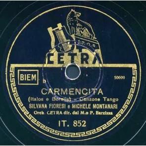 Carmencita cover