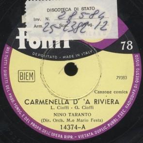 Carmenella d'a riviera