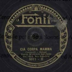 Cià Corpa Mamma cover