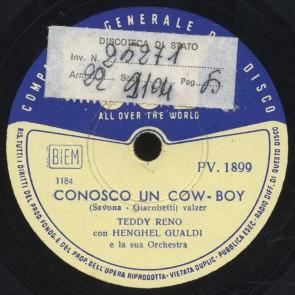 Conosco un cow-boy