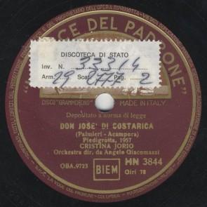 Don Jose' di Costarica