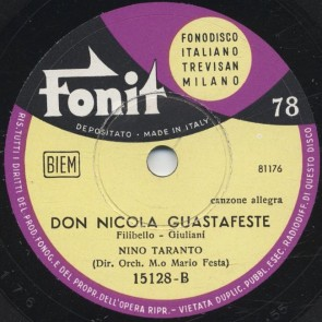 Don Nicola guastafeste