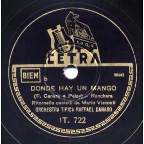 Donde Hay Un Mango cover