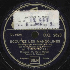 Ecoutez les mandolines