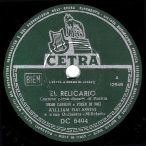 El Relicario (Da disco) cover
