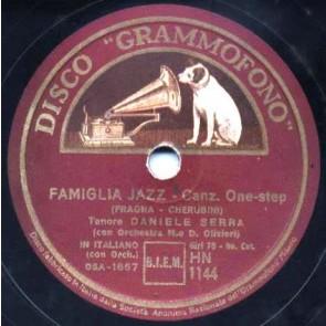 Famiglia Jazz cover