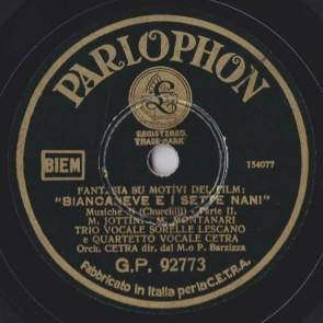 Fantasia Biancaneve E I 7 Nani cover