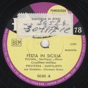 Festa in Sicilia